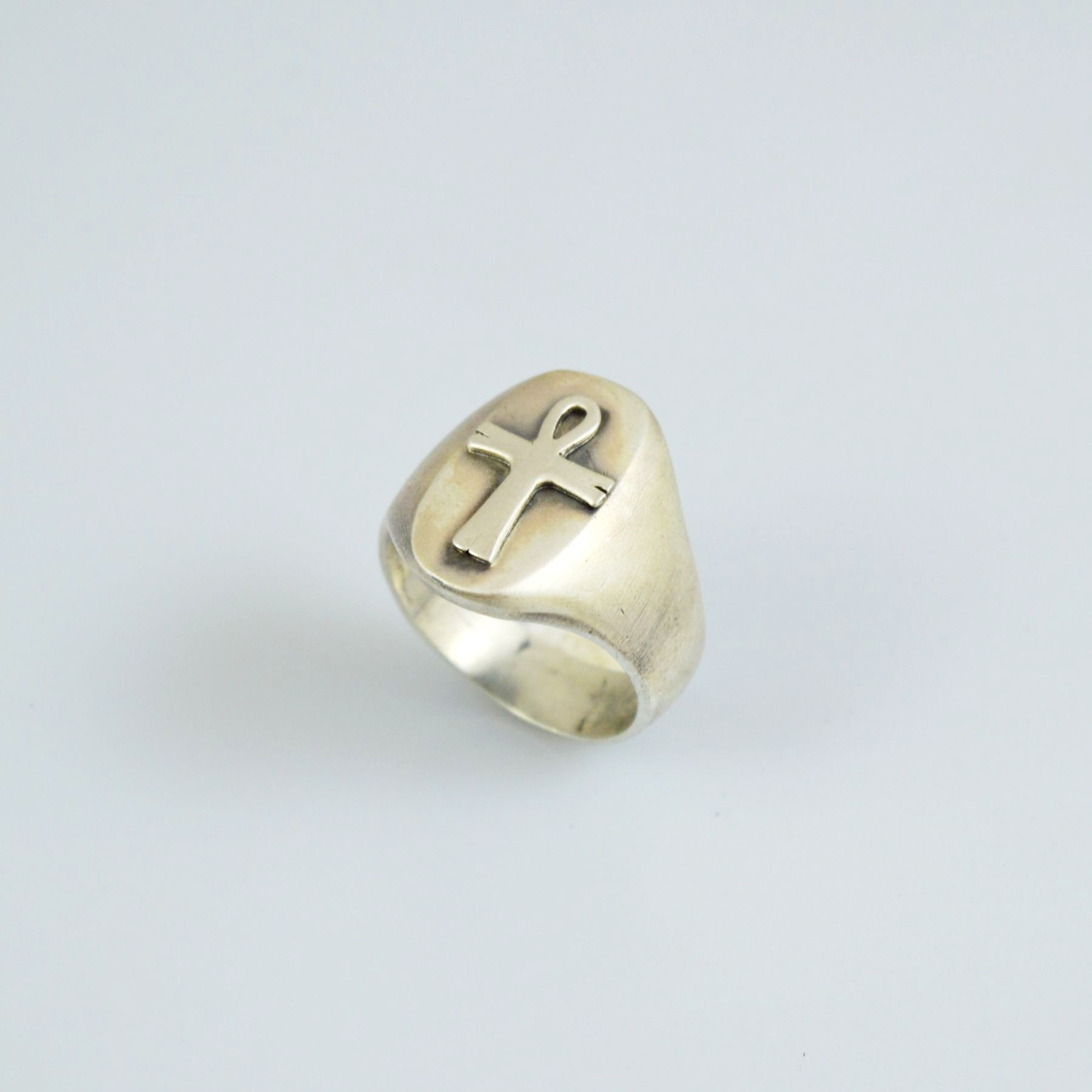 Δαχτυλίδι αντρικό χειροποίητο απο ασήμι 925