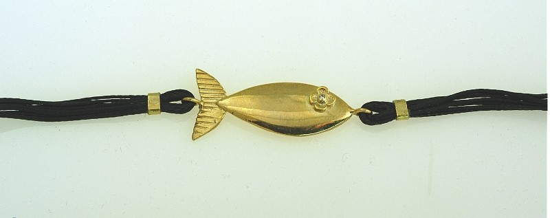Βracelet handmade silver 925 gold plated with synthetic stones