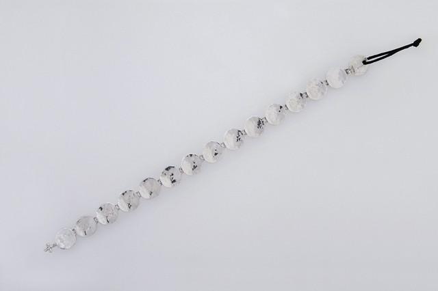 Bracelet handmade in sterling silver 925