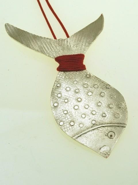 Silver pendant 925 rhodium plated