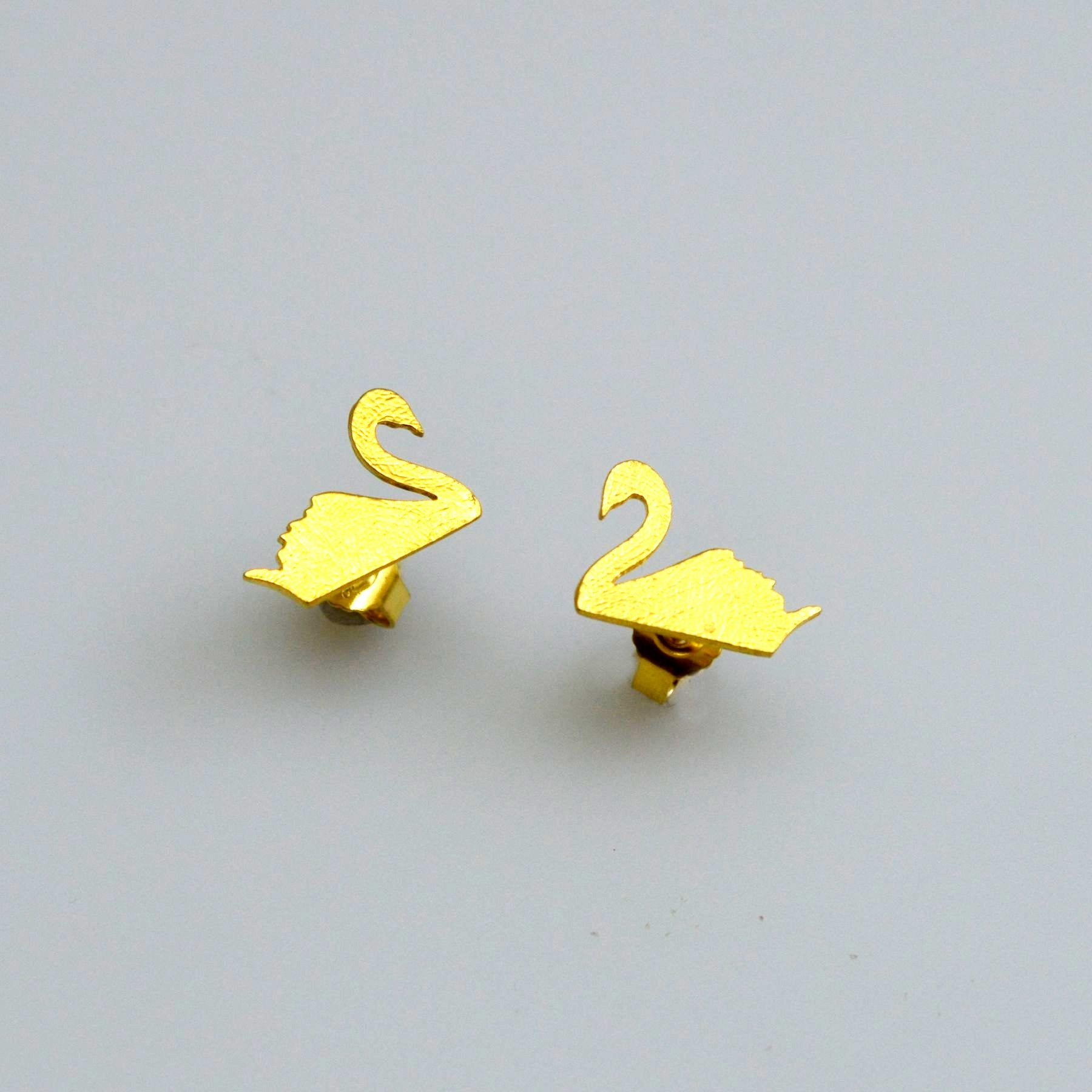 Gold earrings 14K or 18K