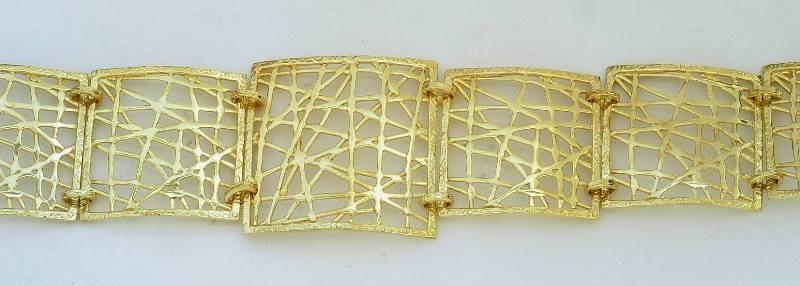 Gold bracelet 14K or 18K