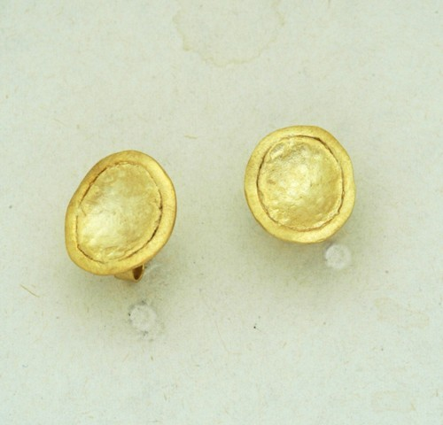 Gold earrings 14K or 18K