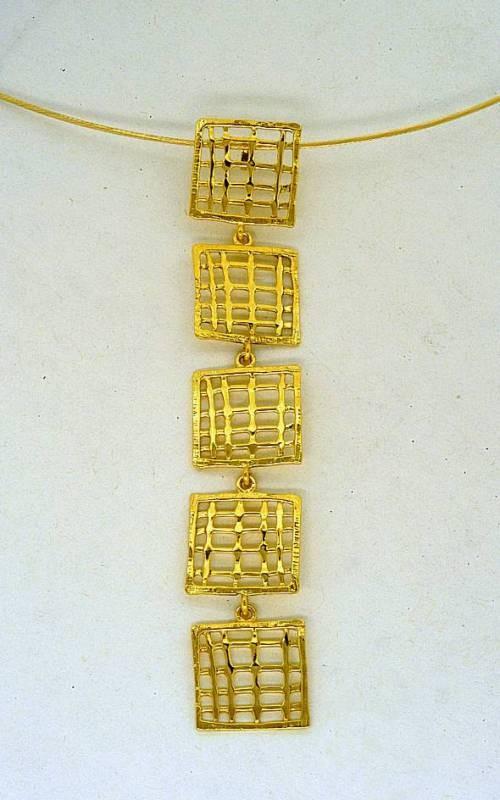 Gold pendant 14K or 18K